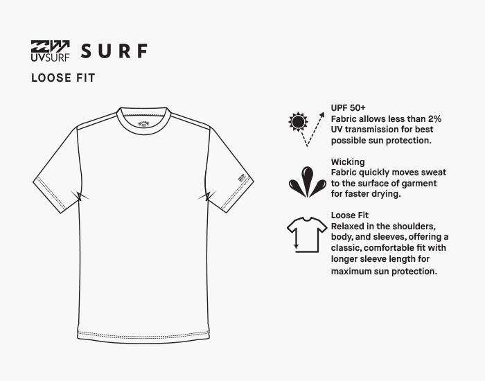 Billabong Mens Bunker Loose Fit Long Sleeve Surf Shirt