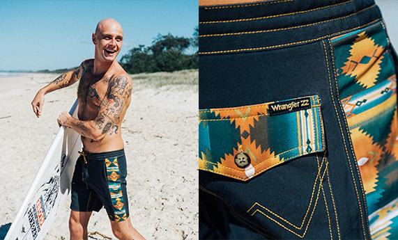 Billabong x Wrangler Men's Boardshorts Collection