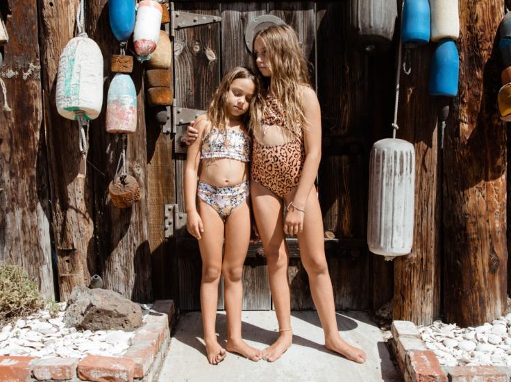 Sweet girls in bikinis